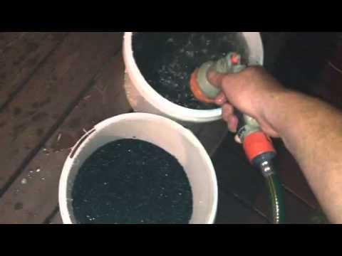 How to wash aquarium gravel