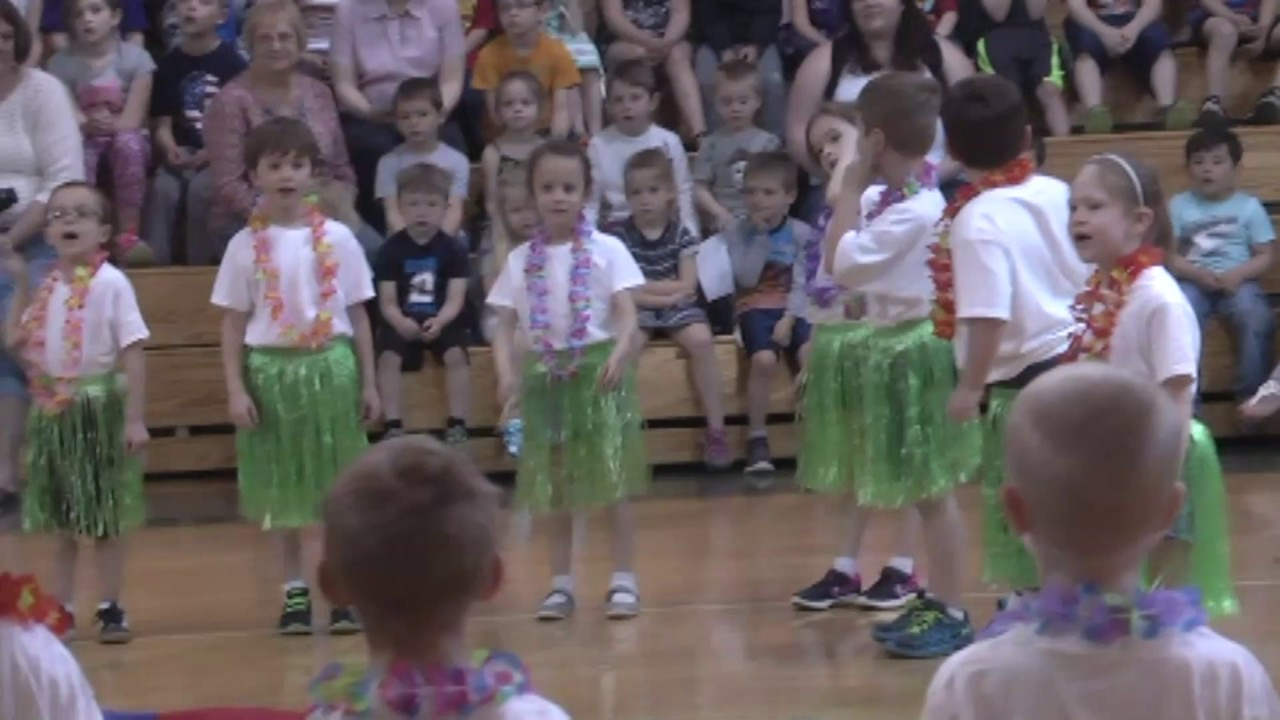 CCRS Kindergarten Gym Show  4-28-17