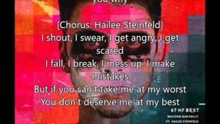 Download free: Machine Gun Kelly At My Best Lyrics Ft Hailee ...