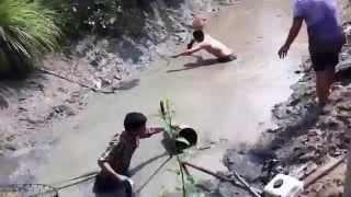 Video bắt cá miền Tây