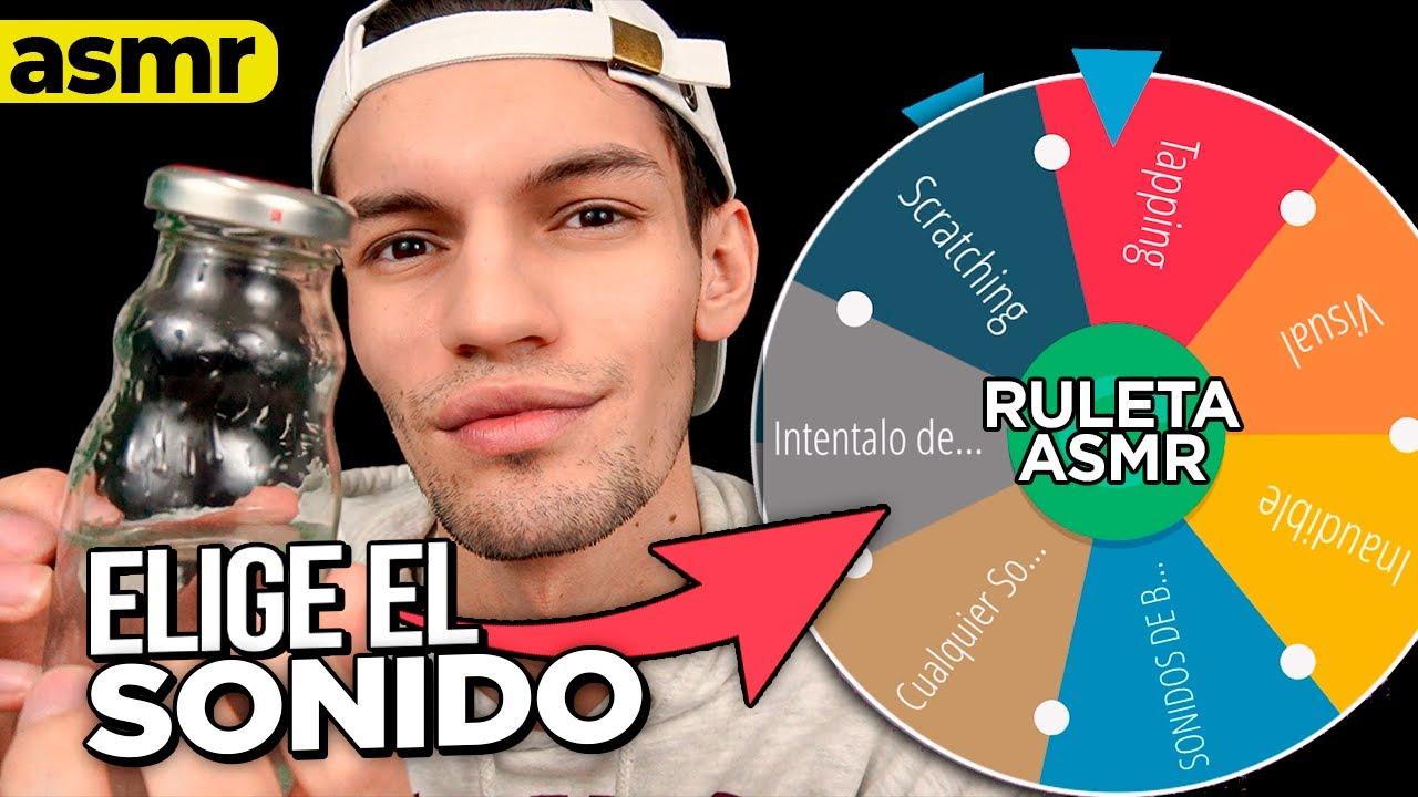 ASMR RULETA elige mi ASMR - ASMR Español - mol asmr