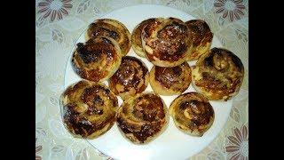 Булочки с ореховой начинкой от Виты Набоковой