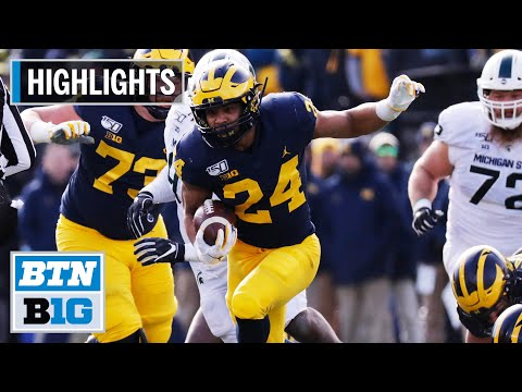 Highlights: Big Day for Patterson in Rivalry Win | Michigan State at Michigan | Nov. 16, 2019