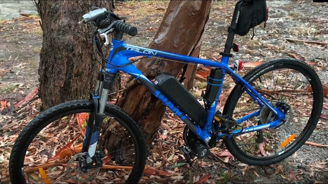 BEWO 350W MID DRIVE Electric Bike Conversion Kit - Is it water