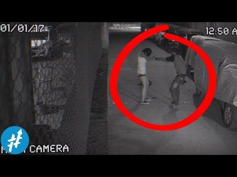 Gak Sadar Ada CCTV, Orang Ini Nekat Ngelakuin Hal GAK PANTAS