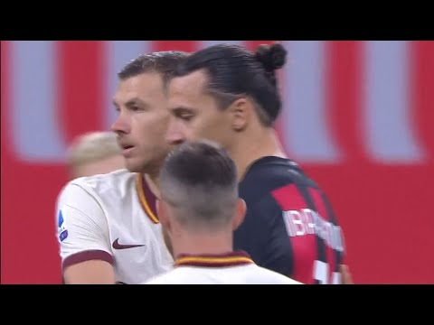 When Edin Dzeko Met Zlatan Ibrahimovic for the First Time