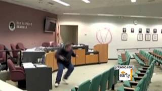 School Board Shooting Caught on Tape
