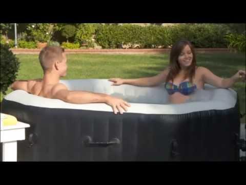Intex pure spa octagon Deluxe | Jets en bubbels | Opblaasbare jacuzzi
