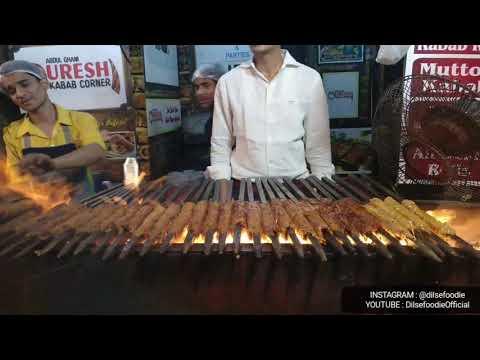 Qureshi Kabab Corner | Mutton Kabab | Chicken Kabab | Jama Masjid | Old delhi