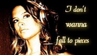 Jonas Steur feat Jennifer Rene - Fall To Pieces [lyrics on screen]