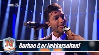 Burhan G lækkersulten under skønsang