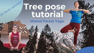 Yoga For Complete Beginners | Tree Pose  (2020)