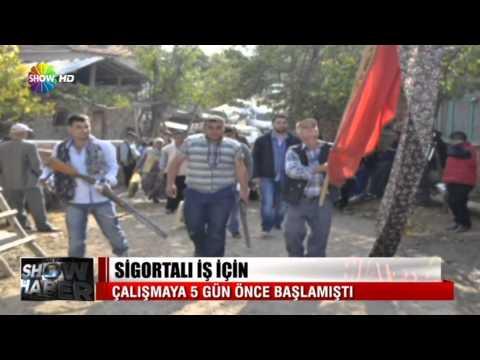 Soma'da facianın gerçekleştiği o madene ilk kez show haber ekibi girdi !!!