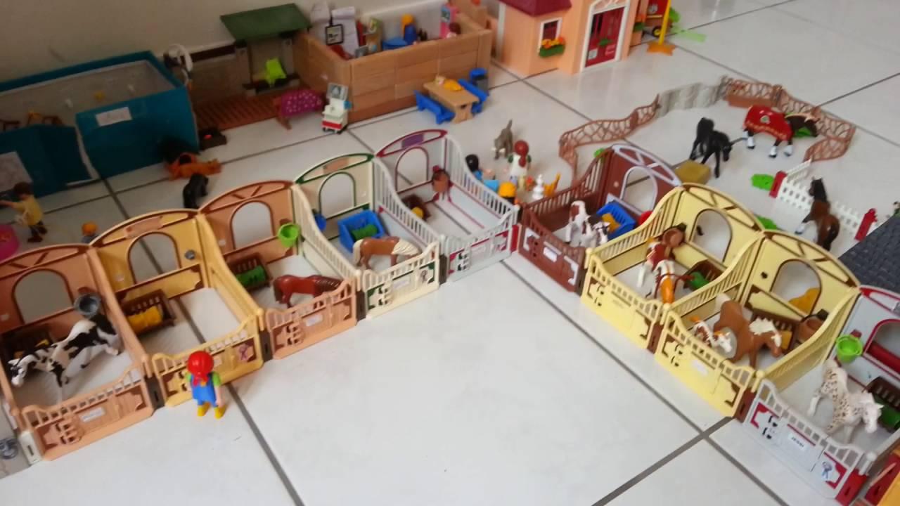 visite de mon centre questre playmobil youtube. Black Bedroom Furniture Sets. Home Design Ideas