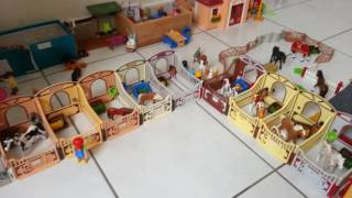 Visite de mon centre équestre playmobil