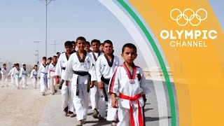 Taekwondo Draws Out New Confidence in Refugee Children | Camps to Champs