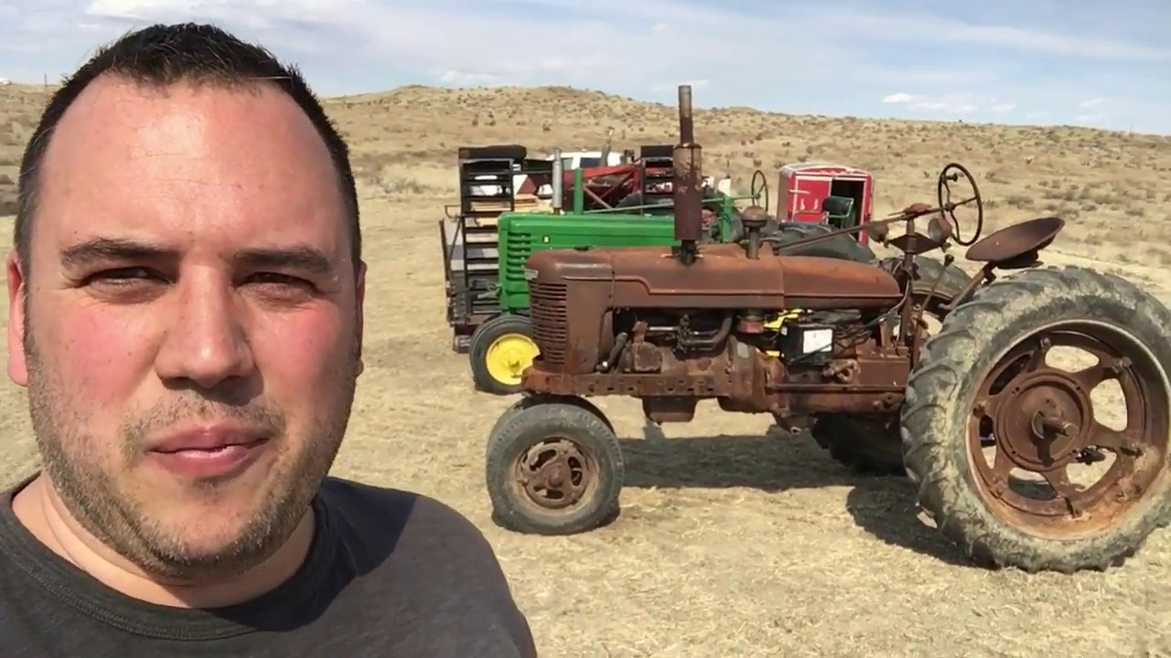 Tractor Time at The Ranch - John Deere B, Farmall H, M