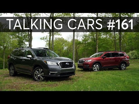 2019 Subaru Ascent; Our Worst Automotive Mistakes   Talking Cars with Consumer Reports #161