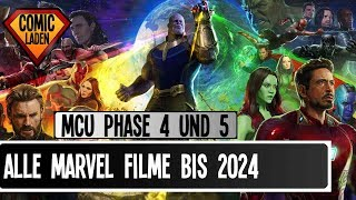 Alle MARVEL FILME bis 2024 – Das sind die Phasen 4 und 5 im MCU [onsXreen]
