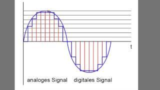 Digitale und analoge Audiosignale