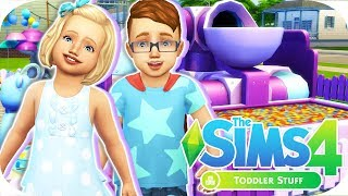 THE SIMS 4 // TODDLER STUFF | CAS + BUILD & BUY OVERVIEW!😍