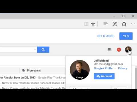 how to login to different gmail account