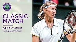 Steffi Graf vs Venus Williams | 1999 Wimbledon Quarter-final Replayed