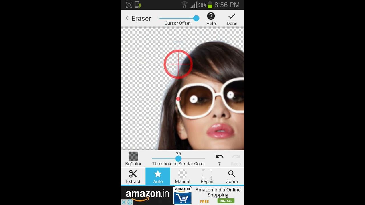 Face crop app