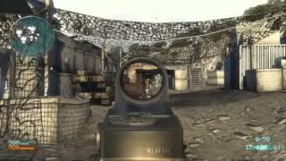 Game play de Medal of Honor 2010 online jogando com lag.