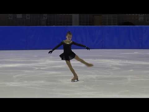 12. Santa Claus Cup 2018: Polina Karpova (RUS)  FS Cubs Girls ISU 9 Free Skating