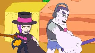 Frank vs Mortis - Brawl Stars Animation #4