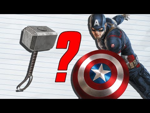 How Strong Was Captain America With Mjolnir? (MCU)