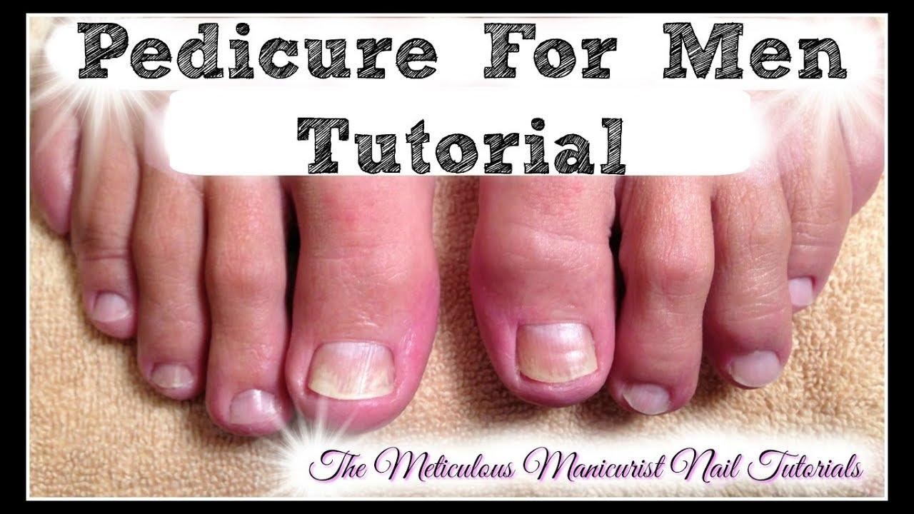 mens toenail care