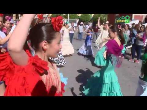 El colegio Ángel Campano de Gines celebra su Rocío