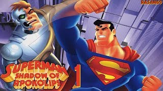 Superman - Shadow of Apokolips (GCN) walkthrough part 1