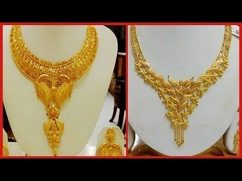 Designer Gold Necklace Collection | Latest Jewellery Designs