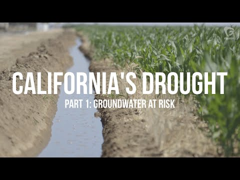 California's Drought: Groundwater at risk