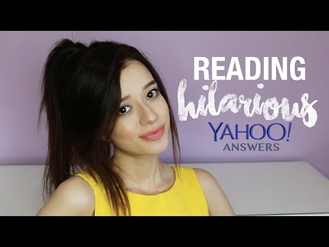 Reading & Reacting to the FUNNIEST Yahoo Answers