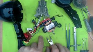 видео Ремонт фена для волос своими руками: электрическая схема, керамический элемент