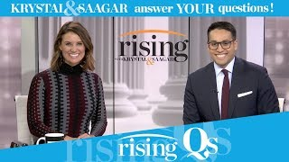 #RisingQs: Dems path to centrism; the Tulsi test; and the HRC X-Factor