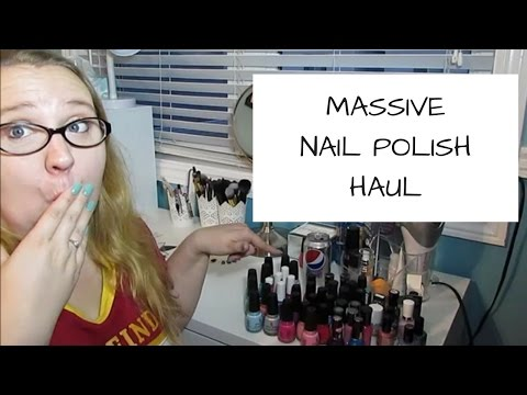 MASSIVE NAIL POLISH HAUL!