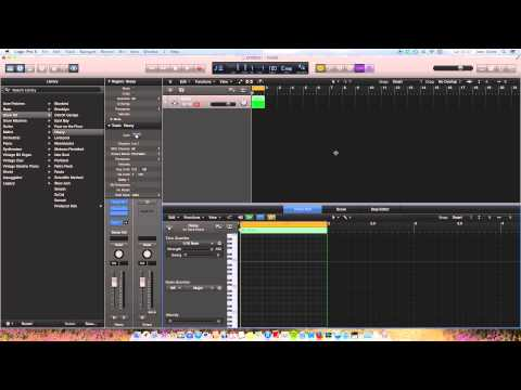 Drum Map in Logic Pro X