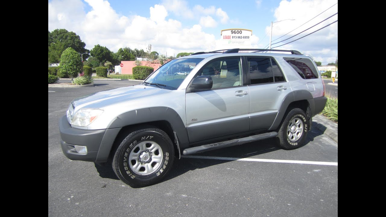 Beautiful SOLD 2003 Toyota 4Runner SR5 2WD Meticulous Motors Inc Florida For Sale