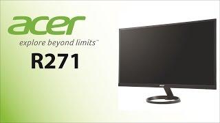 Unboxing y analisis monitor ACER R271 - 27 Pulgadas FHD (R1 Series)