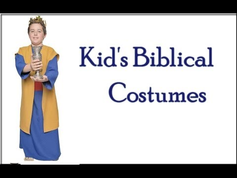 sc 1 st  YouTube : kids biblical costumes  - Germanpascual.Com