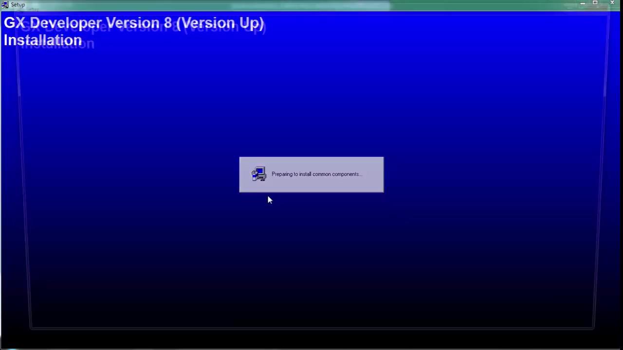 Hướng dẫn cài đặt Phần mềm GX Developer V8.91 Full
