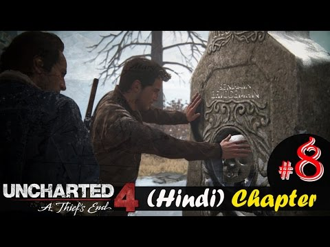 """Uncharted 4 Hindi Chapter 8 """"Grave Of Henry Avery"""" PS4 Gameplay Walkthrough"""