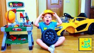 Егорка ремонтирует свою Технику...!!! РАСПАКОВКА Инструментов!!!