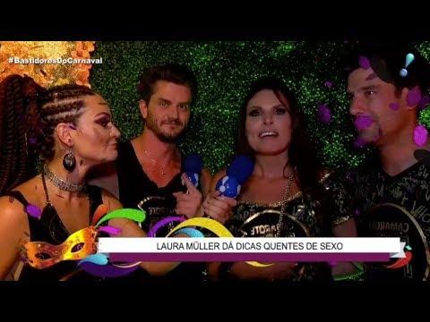 Laura Muller Dá Dicas 'quentes' Para Quem Quer Se Divertir No Carnaval