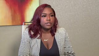 RAW VIDEO: Woman accusing Houston Texans QB Deshaun Watson talks with FOX 26